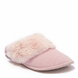 CROCS Classic Luxe Faux Fur Trimmed Slipper
